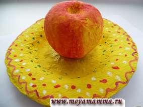Как сделать тарелку папье маше