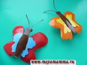 Бабочки из пластика своими руками