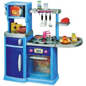Детская игрушечная кухня со светом и звуком