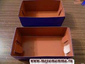 Две части коробочки