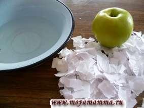 Измельченная бумага для папье маше
