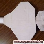 поделка из картона самолет военный