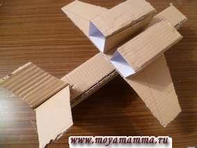 Поделка  военный самолет из картона
