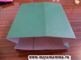 изготовление шаблона для бумажной сумки