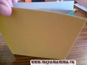 изготовление сумки из бумаги