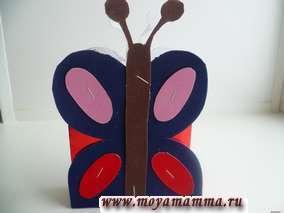 изготовление сумки Бабочка