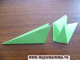 поделка елочка из бумаги