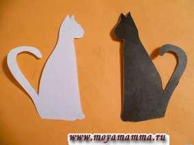 кошки для валентинки