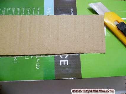 Вырезание отверстий на коробке