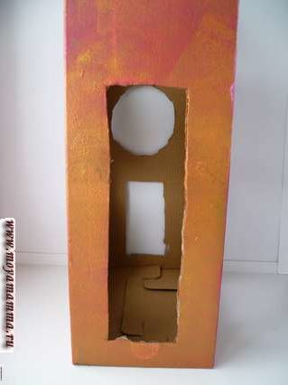 Сортер своими руками. Покрытие краской коробки сортера