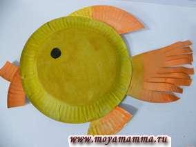 Поделки из одноразовых бумажных тарелок