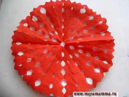 Салфетка из бумаги