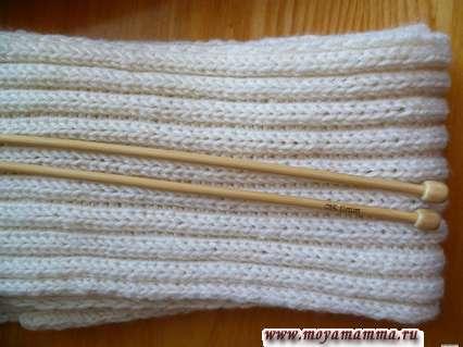 узоры для вязания шарфов спицами