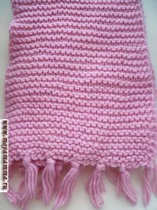 платочныйузор для шарфа