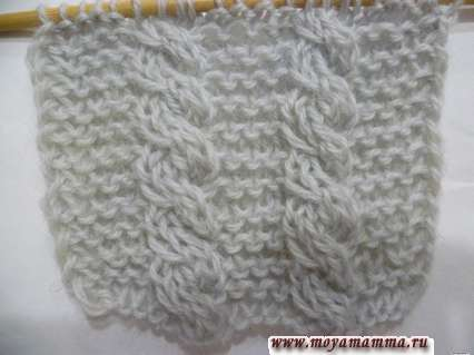 Косички для шарфа