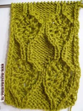 Двусторонний ажурный шарф для женщин