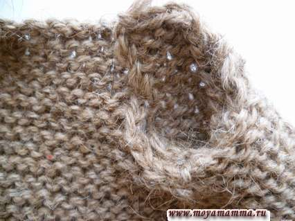 Вшивание рукава в пройму жакета