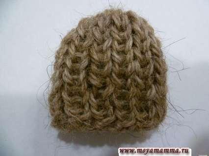 Сшить шов на шапочке