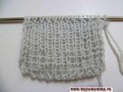 Вязание голенища сапога