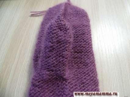 способ вязания большого пальца на варежке