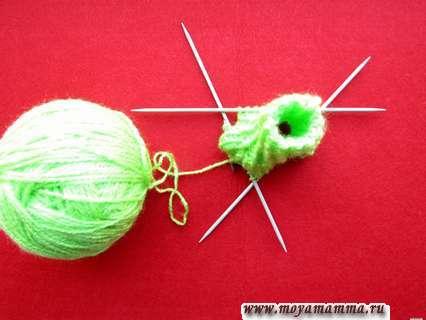 Поэтапное вязание платья для куклы