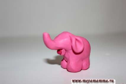 делаем губки слону