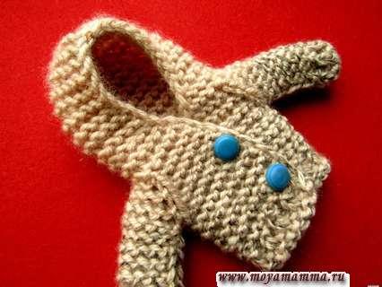 курточка для куклы с капюшоном