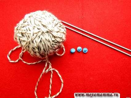 материалы для вязания куртки для куклы