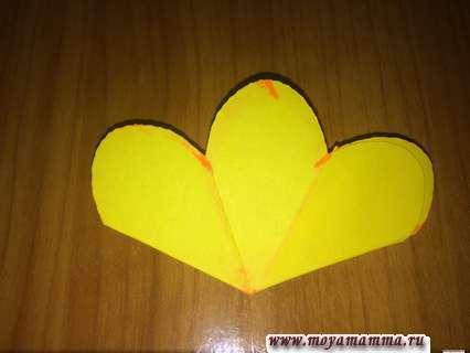 Склеивание по технике киригами