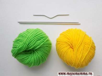 Пряжа для вязания узора елочки