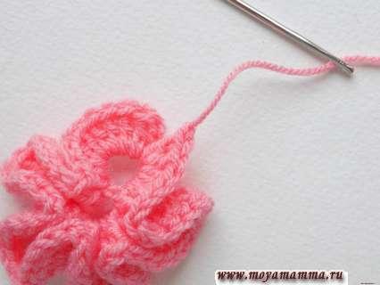 Закрытие вязания