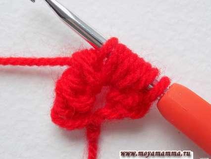 Урок вязания крючком тесьмы