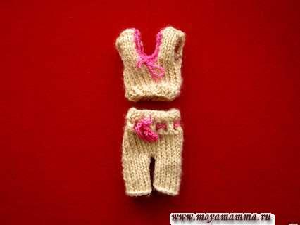 Шорты и майка для куклы Барби
