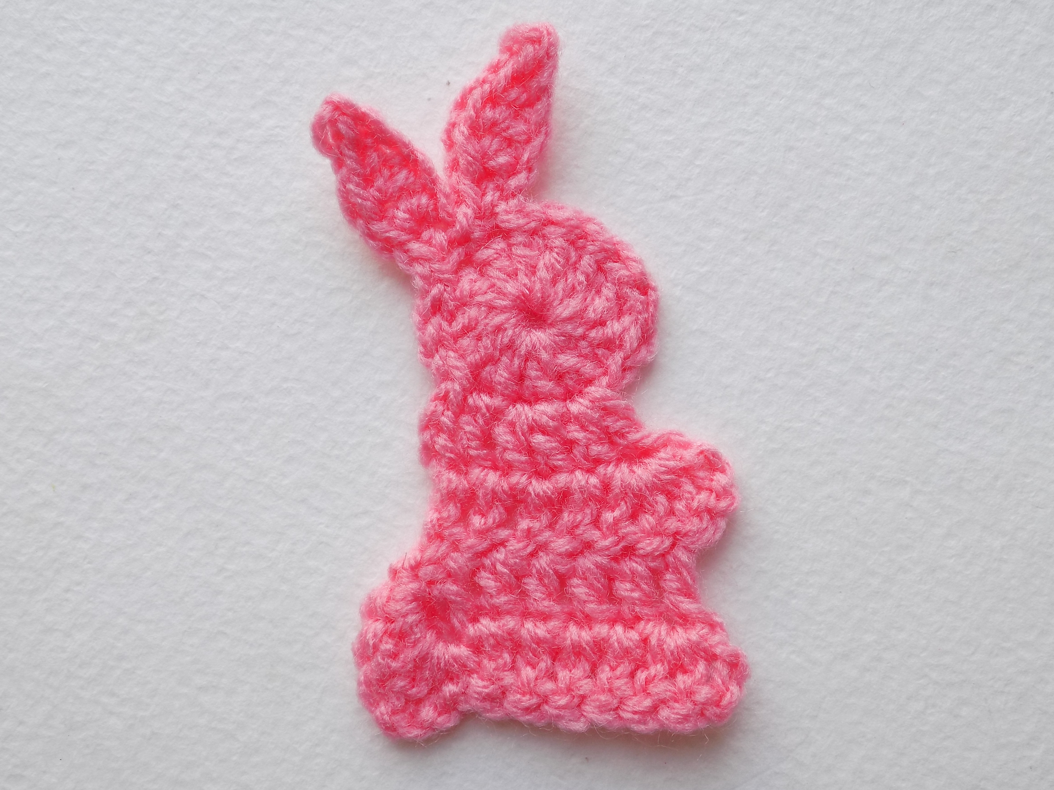 аппликация в виде кролика