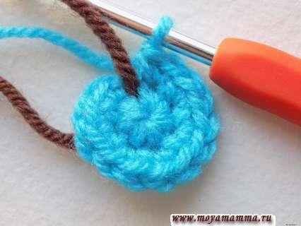 Вязание китенка крючком