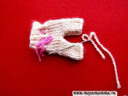 Вязание шорт