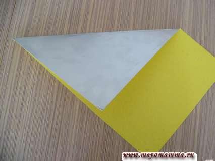Делаем квадрат из бумаги