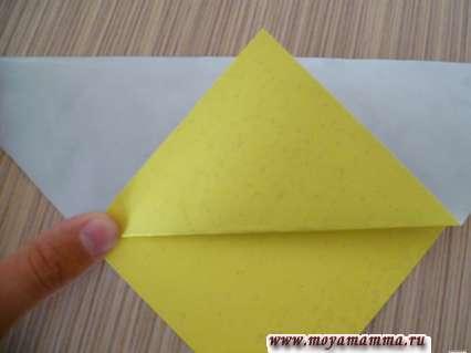 Начинаем делать закладку из бумаги