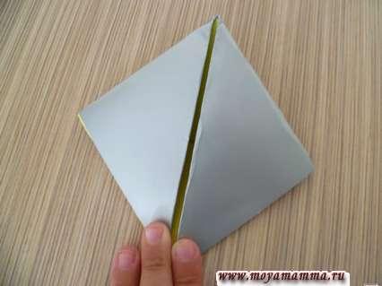 Ромбик из бумаги
