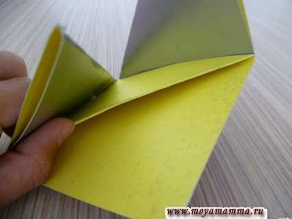 Изготовление закладки из бумаги