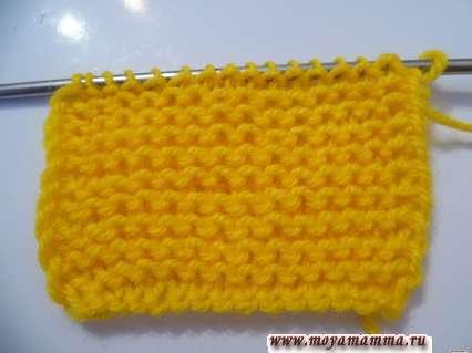 Вязание хвостика