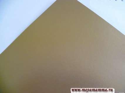 Золотой картон для наушников