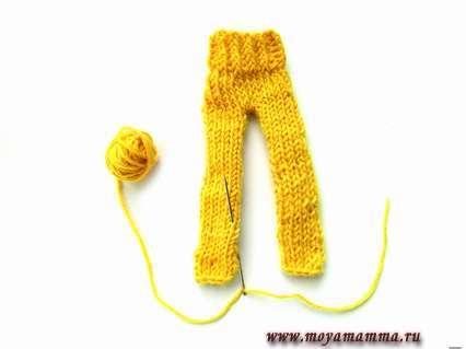 Сшиваем штаны