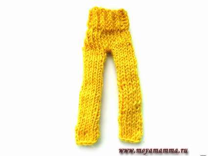 штаны при помощи спиц