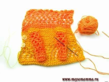Сшиваем рукава и добавляем пуговицы