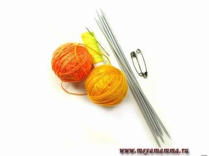 Материалы для вязания кофточки