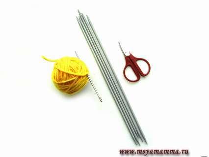 материалы для вязания штанов