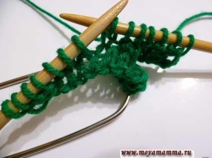 вязание косы