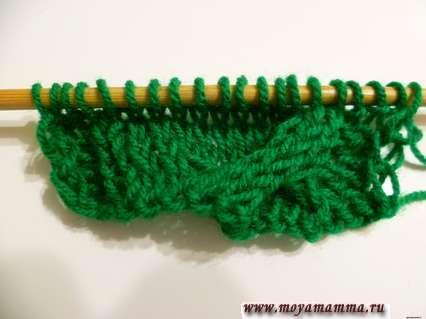 вязание большой косы