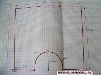 Схема построения штанов для Басика